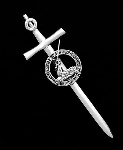 Clan Obrien Kilt Pin Sterling Silver