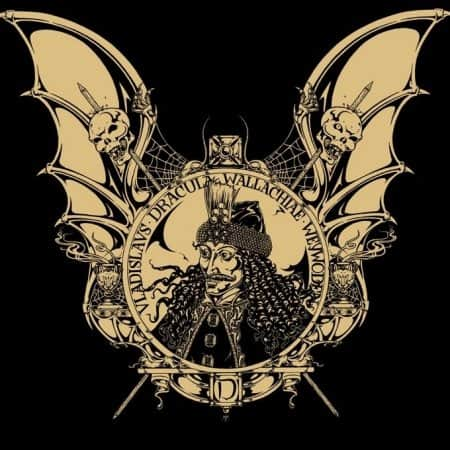 Goth Vlad the Impaler Dracula T-Shirt Artist: Maxine Miller ©celticjackalope.com