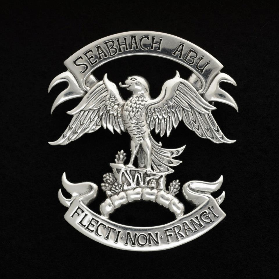 Clan Cian Clansman's Crest Badge - .925 Sterling Silver by Maxine Miller ©celticjackalope.com