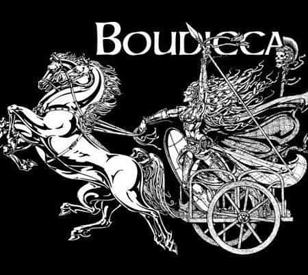 Warrior Queen Boudicca T-Shirt by maxine Miller ©celticjackalope.com