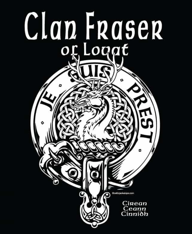 Clan Fraser Of Lovat Clansman S Crest Badge T Shirt