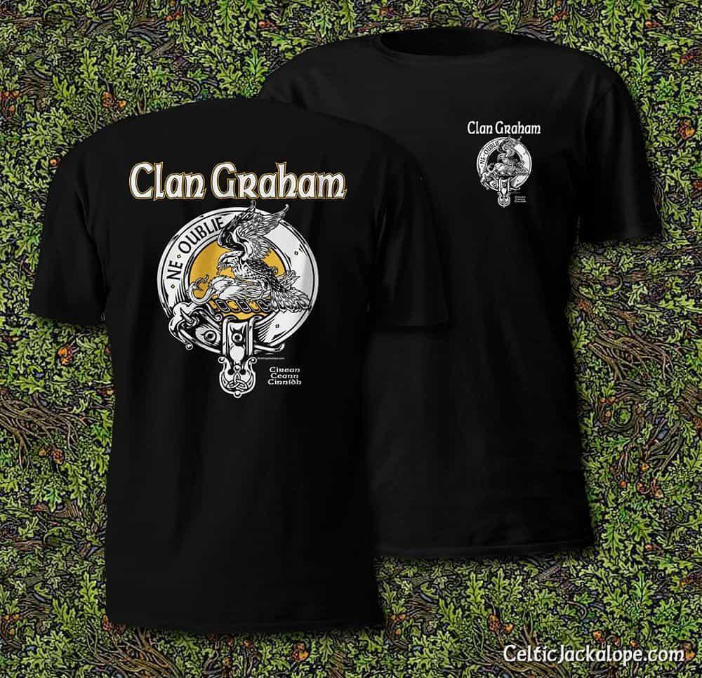 Graham Clan Maglietta pGbG6YM
