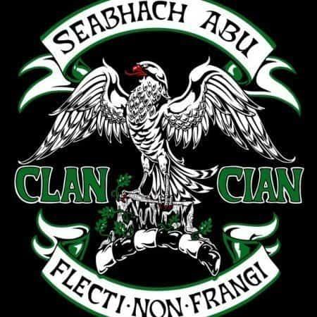 Clan Cian Clansman's Crest Badge T-Shirt by Maxine Miller ©celticjackalope.com