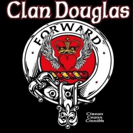 Clan Douglas The Red Douglas Clansman's Crest Badge T-Shirt by Maxine Miller ©celtcjackalope.com A DOUGLAS! A DOUGLAS!
