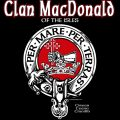 Clan MacDonald of the Isles Clansman's Crest Badge T-Shirt Clan Donald