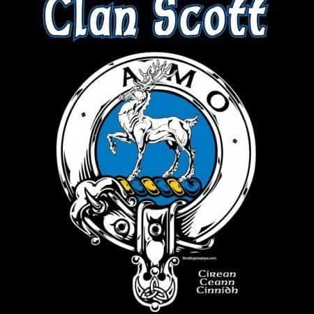 Clan Scott Clansman's Crest Badge Tee Shirt