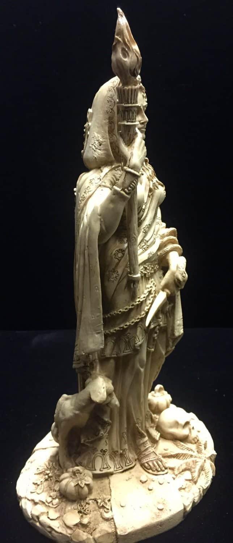 HecateBone4 - Statue by Maxine Miller ©celticjackalope.com
