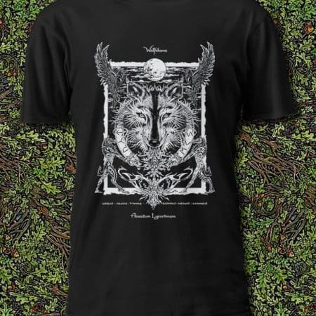 Wolfsbane Magical Botianicals Shirt by Maxine Miller ©celticjackalope.com