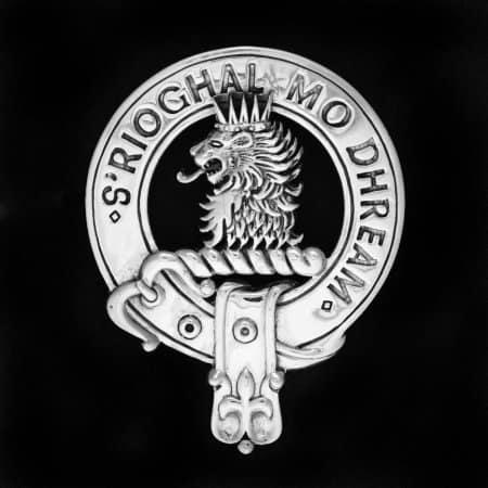Clan MacGregor /Clan Gregor Sterling Silver Clansman's Crest Badge by Maxine Miller ©celticjackalope.com