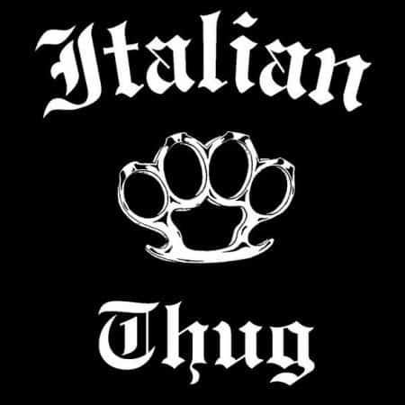 Italian Thug T-Shirt ©celticjackalope.com