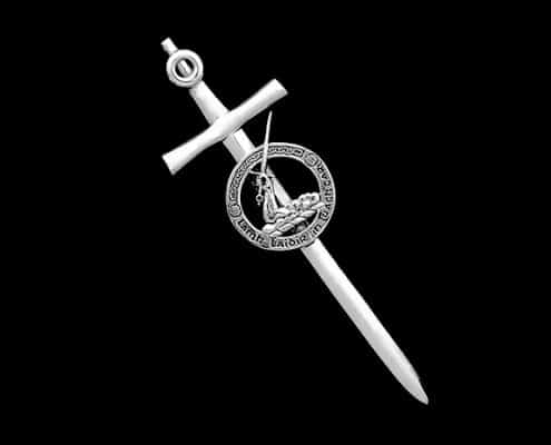 CLAN O'BRIEN KILT PIN - © CELTICJACKALOPE.COM