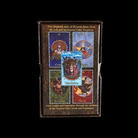 Wisdom Cards: Oracle Of the Ancient Celts: The Dalriada by Maxine Miller, Raven Grimassi, Stepanie Taylor ©Nemesis Now UK